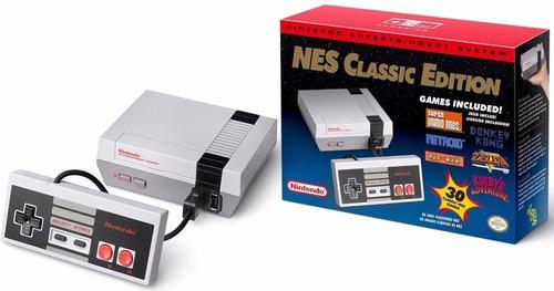 nintendo mini nes classic edition 30 juegos nuevo sellado