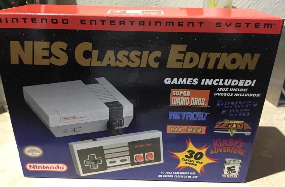 Nintendo Mini Nes Classic Edition 30 Juegos Original Nuevo