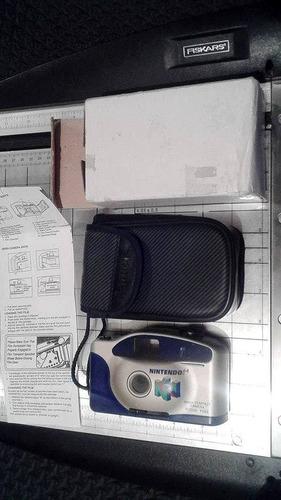 nintendo n64 camara en caja y papeles envio gratis  fabrome