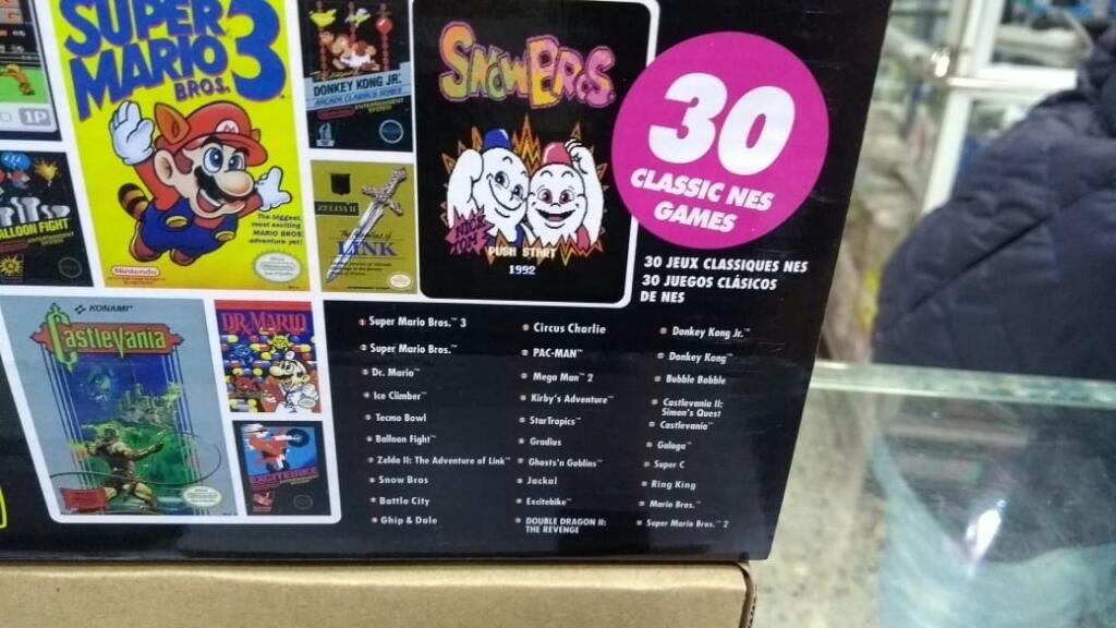 Nintendo Nes Classic Edition 30 Juegos Clasicos Control Adi