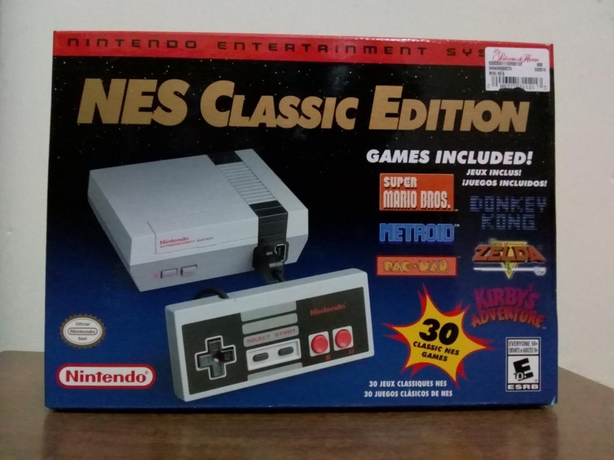 Nintendo Nes Classic Edition Consola Mini Hasta 30 Juegos