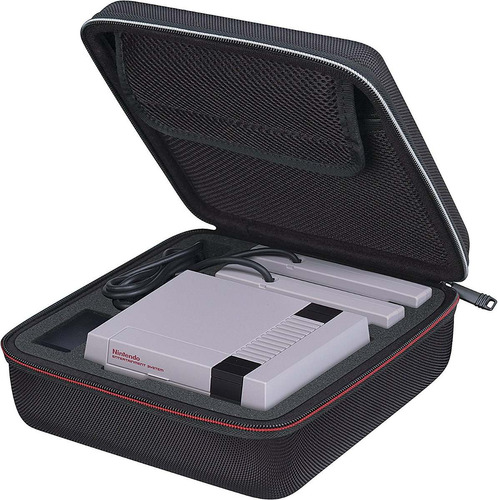 nintendo nes classic edition mini rds carrying case maletín