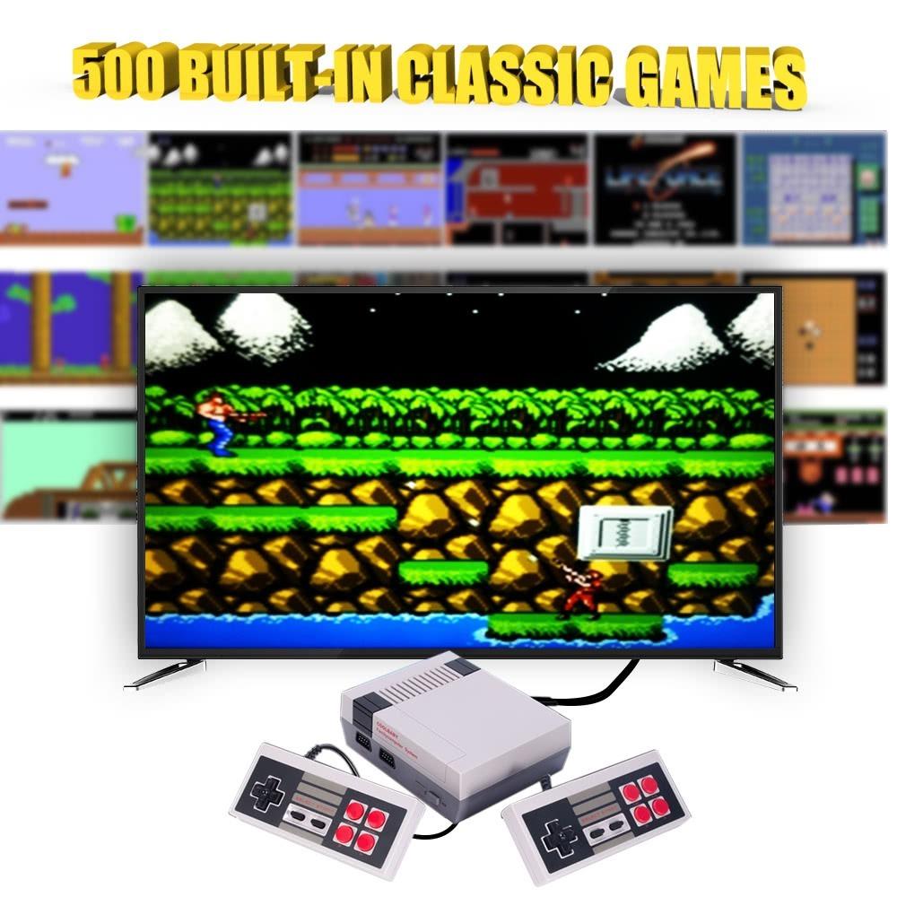 Nintendo Nes Mini Consola Con 620 Juegos Clasicos S 185 00 En
