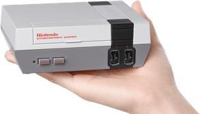 nintendo nes mini + joystick  (nes classic), macrotec