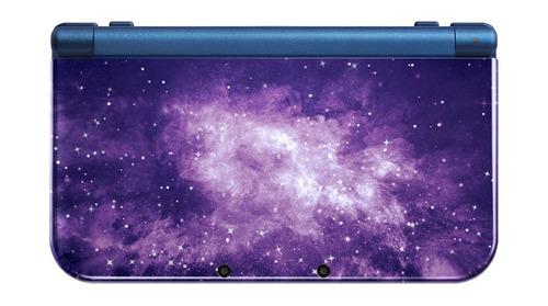 nintendo new 3ds xl galaxy + 32gb / saga pokemon + cargador