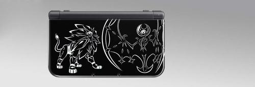 nintendo new 3ds xl solgaleo lunala black edition