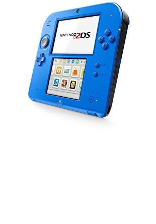 nintendo nintendo 2ds-electric blue 2 w / mario kart 7 - n