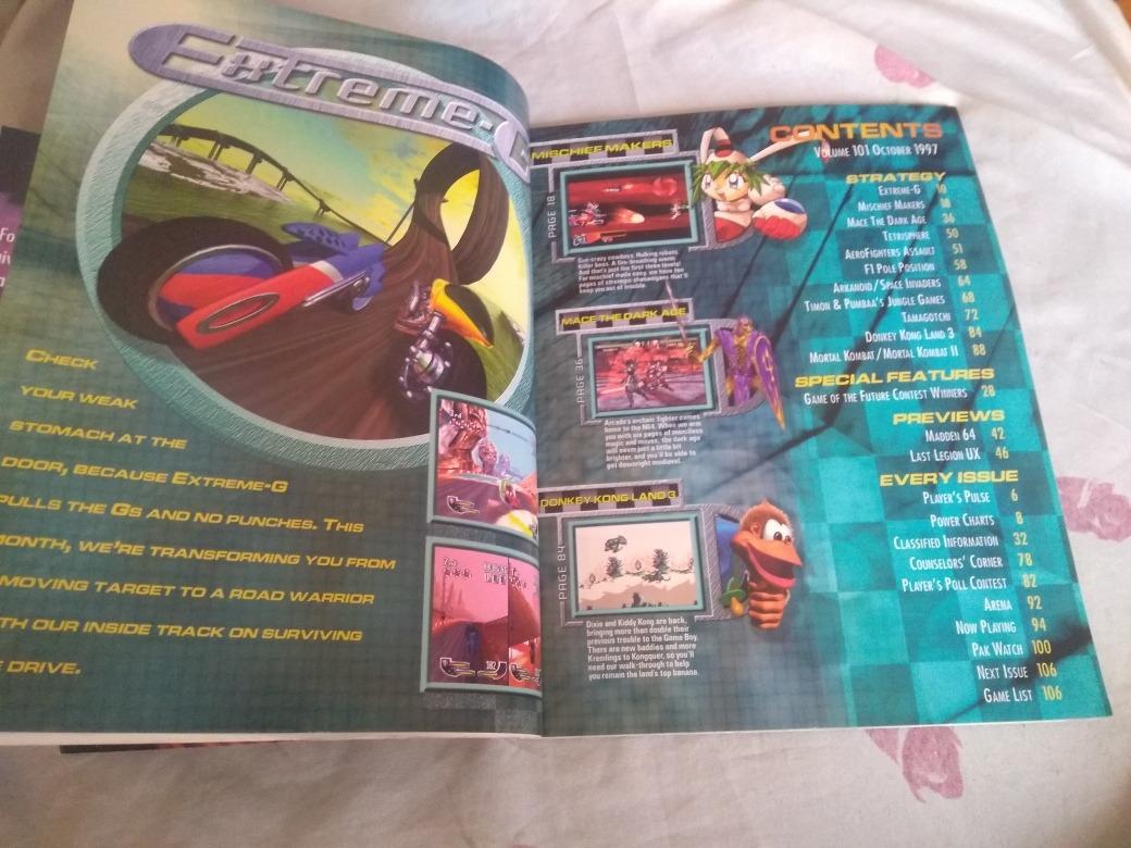 Nintendo Power 101 - Revista Em Perfeito Estado