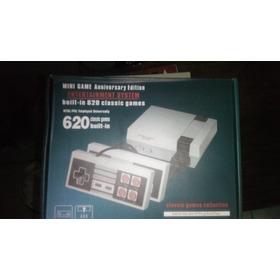 Nintendo Retro Aniversario Mini Sfc 620 Juegos Nueva (25v)
