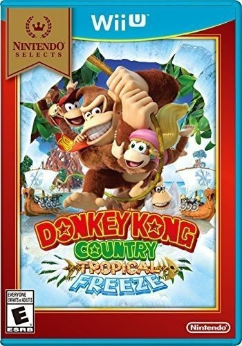 nintendo selecciona: donkey kong country: tropical freeze