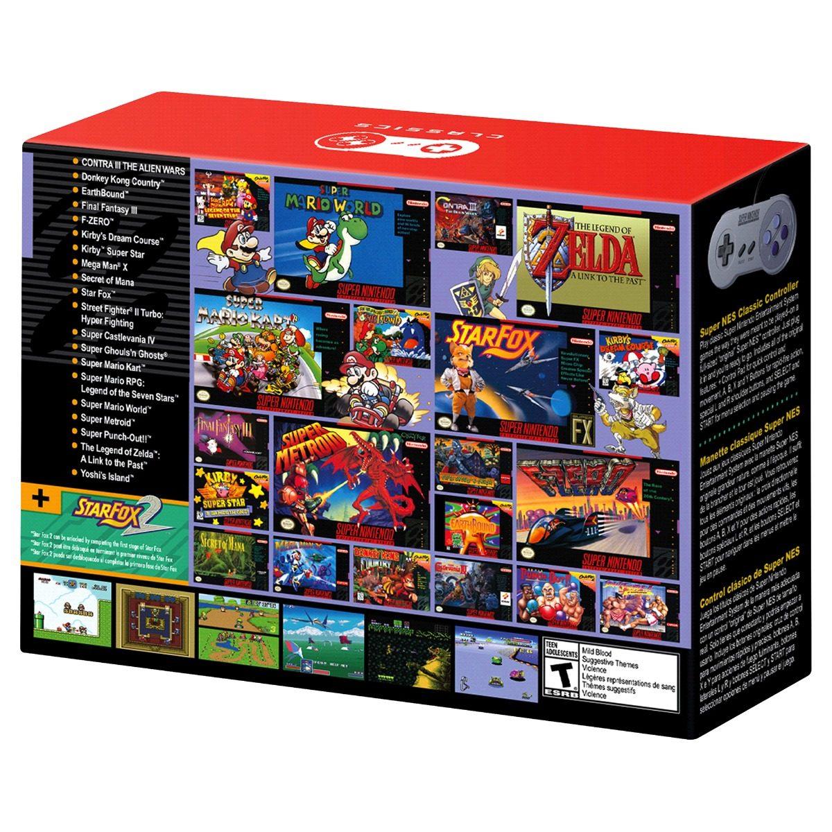 Consola Super Nintendo Snes Classic 2 999 00 En Mercado Libre