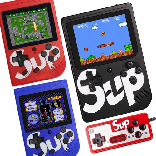 nintendo sup mini  game box 400 consola de videojuego retro