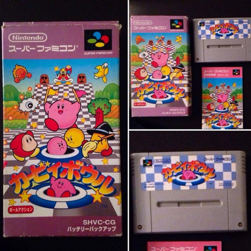 nintendo | super famicom | kirby bowl