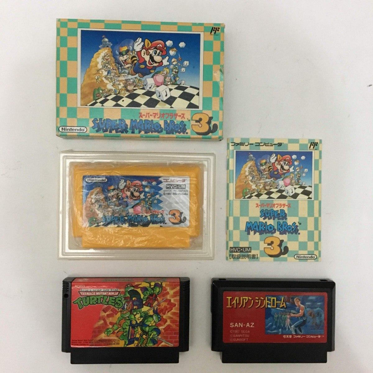 Nintendo Super Mario 3, Tmnt Arcade Game E Alien Syndrome