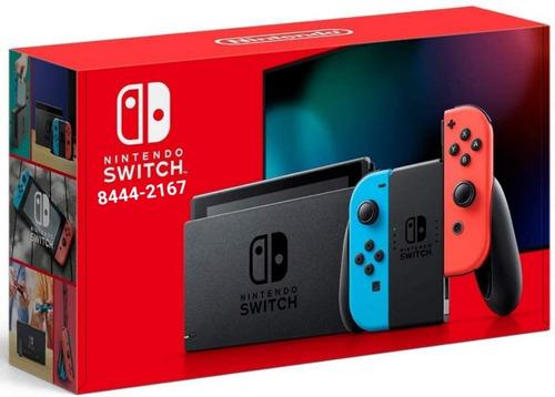 nintendo switch+10 juegos a escoger+160gb! super paquete
