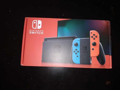 nintendo switch 1.1 nuevo sellado