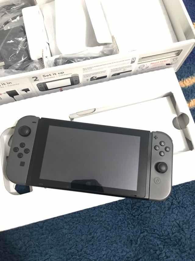 Nintendo Switch 160gb Desbloqueado + Jogos + Freeshop