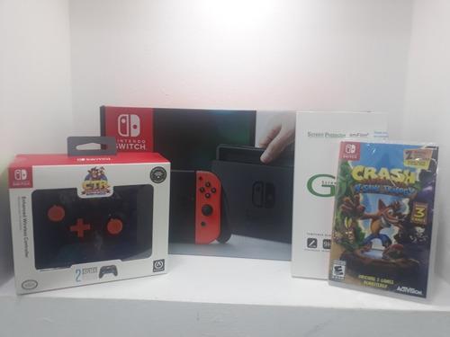 nintendo switch 2019 tienda fisica 1 año de garantia
