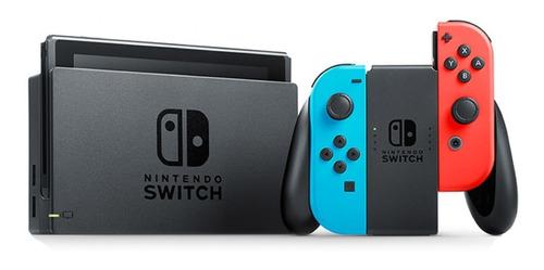 nintendo switch 2020 + garantia + financiamiento somos tiend