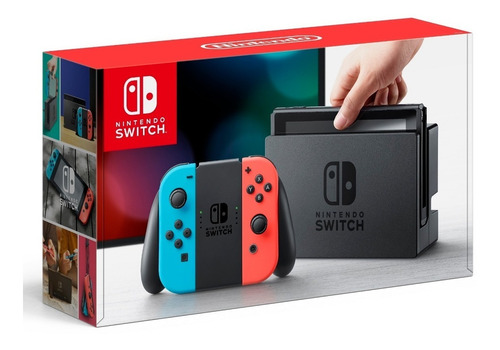 nintendo switch 32gb 4ram hdmi buetooth nuevo sellado