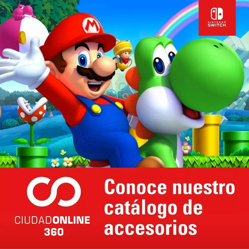 nintendo switch accesorios juegos