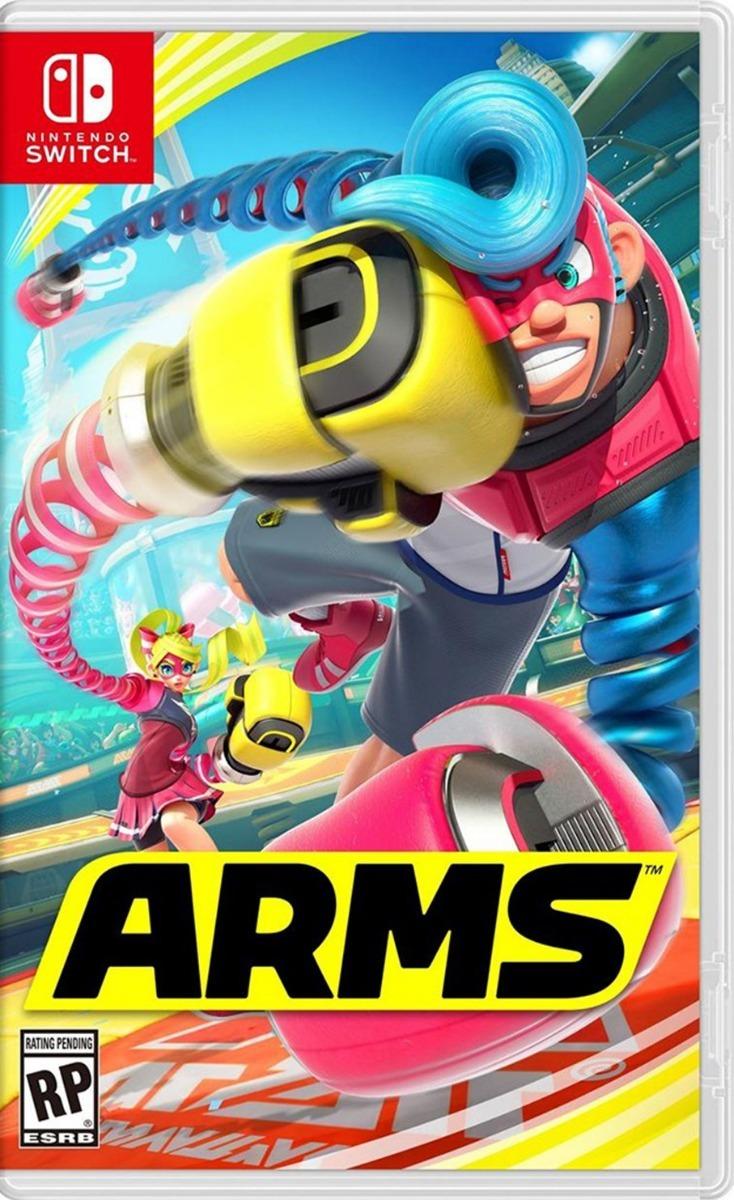 Nintendo Switch Arms Juego Nuevo Sellado 1 299 00 En Mercado Libre