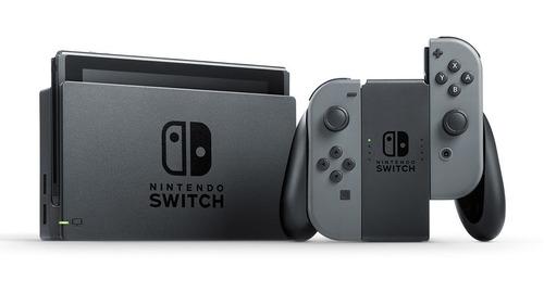 nintendo switch cinza 32gb novo pronta entrega