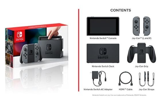 Nintendo Switch Consola Color Gris Edici 243 N Est 225 Ndar