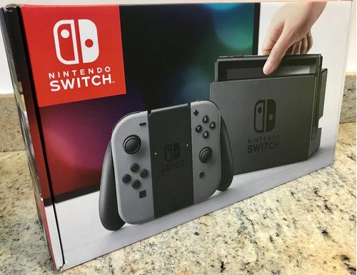 nintendo switch consola grey nuevo