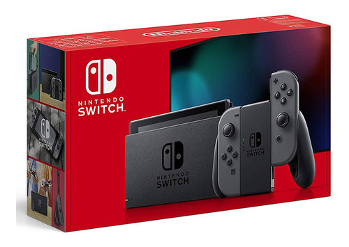 nintendo switch consola gris