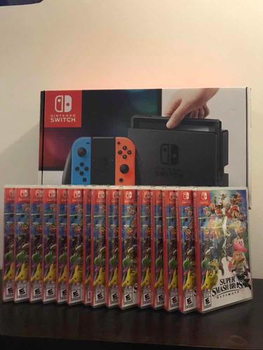 nintendo switch consola juego