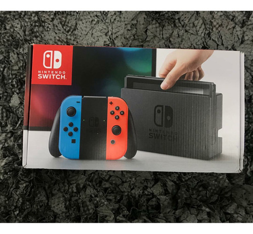 nintendo switch consola nueva sellada mario