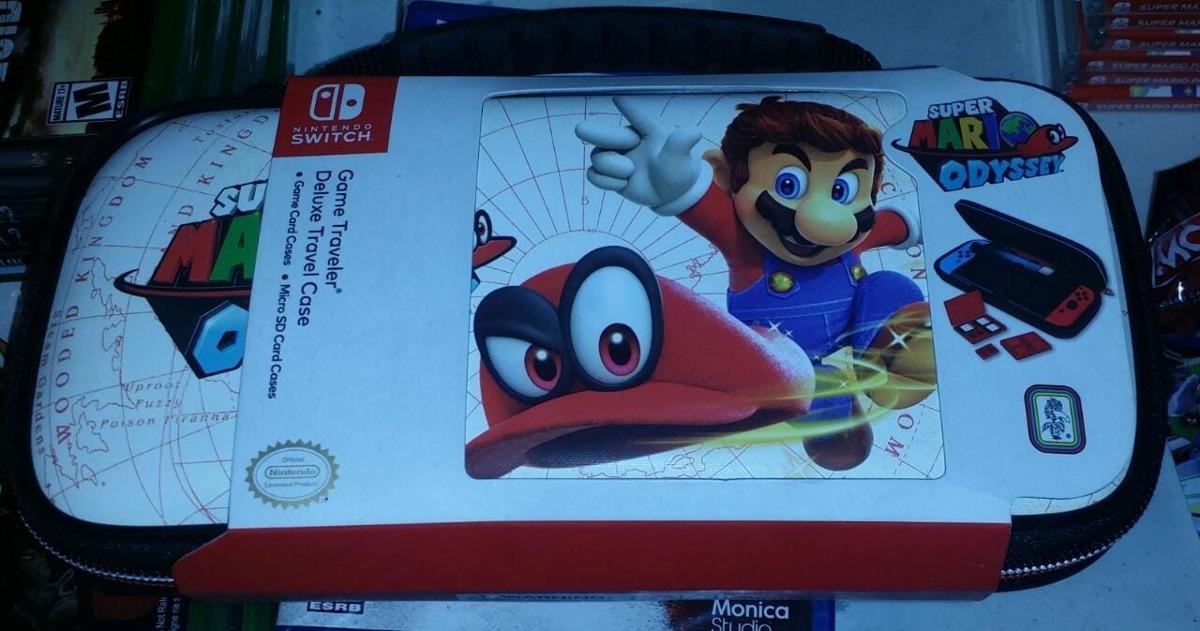 Nintendo Switch Deluxe Travel Case Mario Odyssey Nuevo