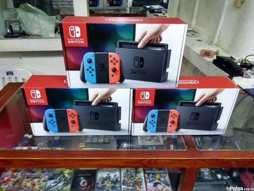 nintendo switch disponibles en - neon red/neon blue joy-con
