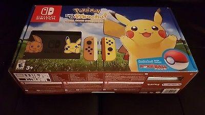 nintendo switch edición lets go pikachu somos tienda física