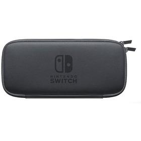 Nintendo Switch Estuche / Forro Duro Color Negro Antigolpes