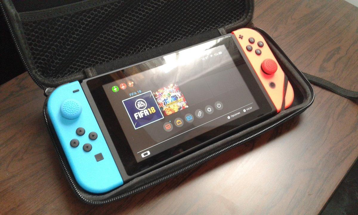 Nintendo Switch Flasheada Free Shop, Caja, Funda, Accesorios
