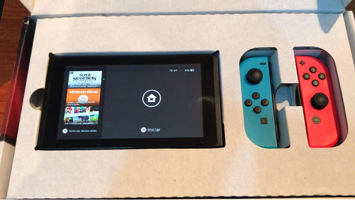 nintendo switch impecable 330