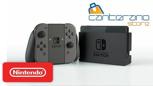 nintendo switch + juego nuevo de paquete