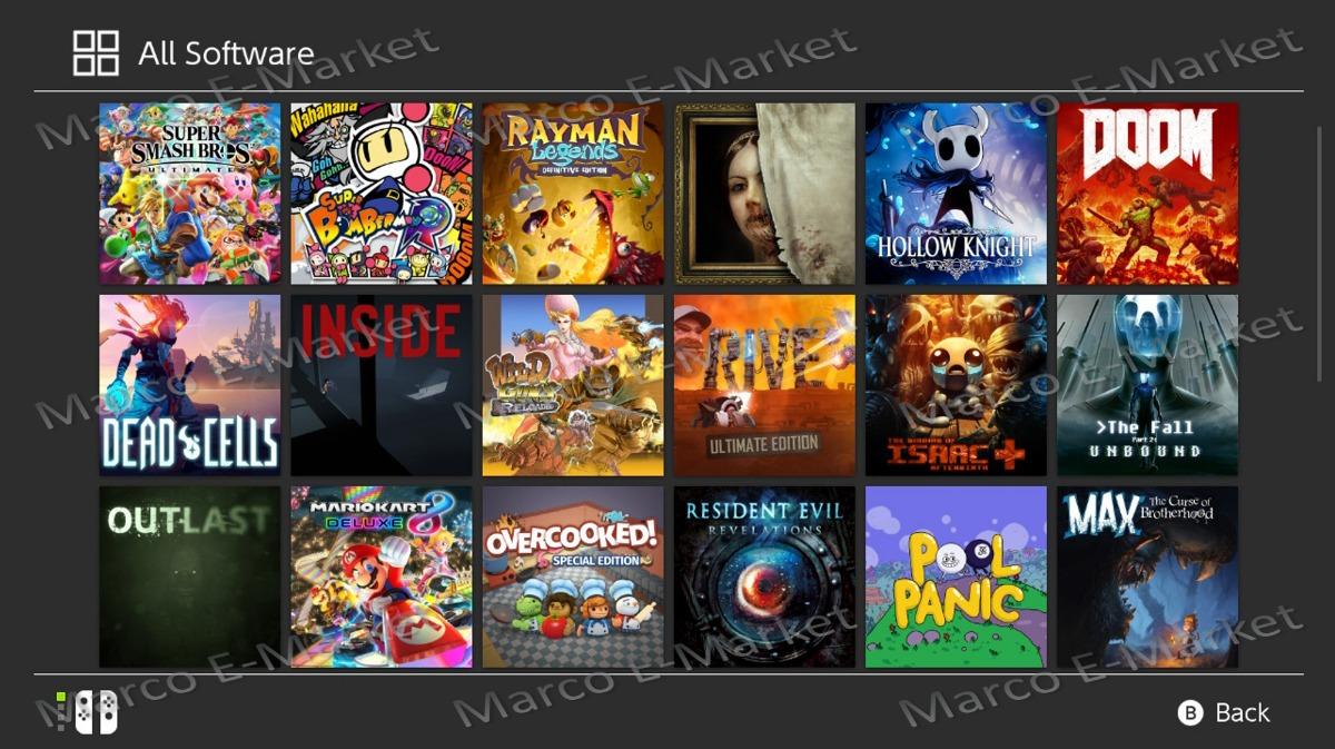 Chip Virtual Nintendo Switch Todos Los Juegos Gratis 890 00