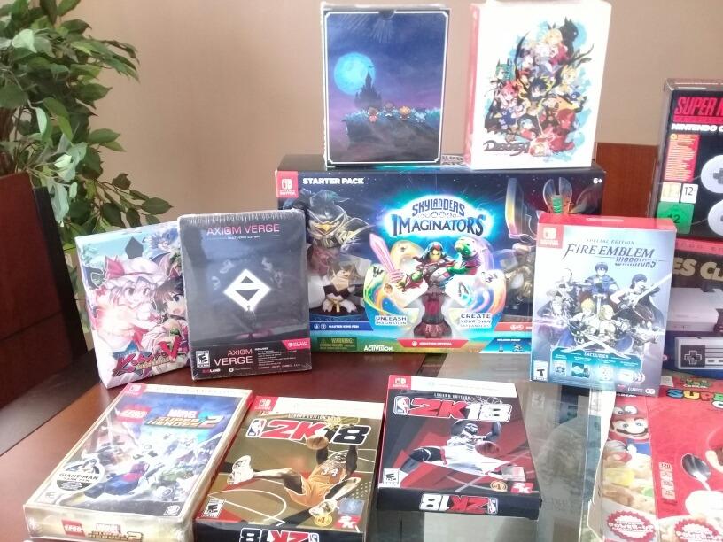 Nintendo Switch Juegos Amiibo Nes Snes Mini U S 1 00 En