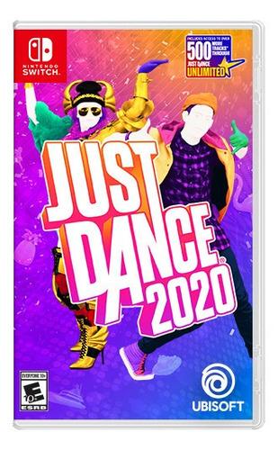 nintendo switch just dance 2020 juego fisico nuevo y sellado