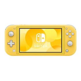 Nintendo Switch Lite 32gb Amarillo