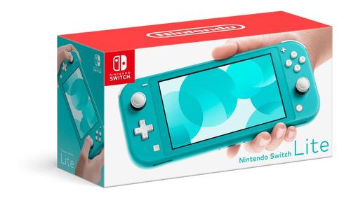 nintendo switch lite consola  nueva +juego a escoger sellado
