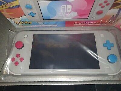 nintendo switch lite pokémon original, nueva
