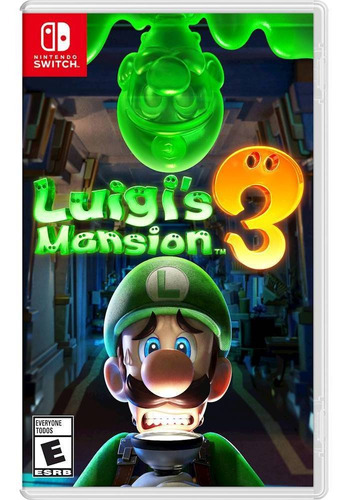 nintendo switch luigi's mansion 3 juego fisico nuevo sellado