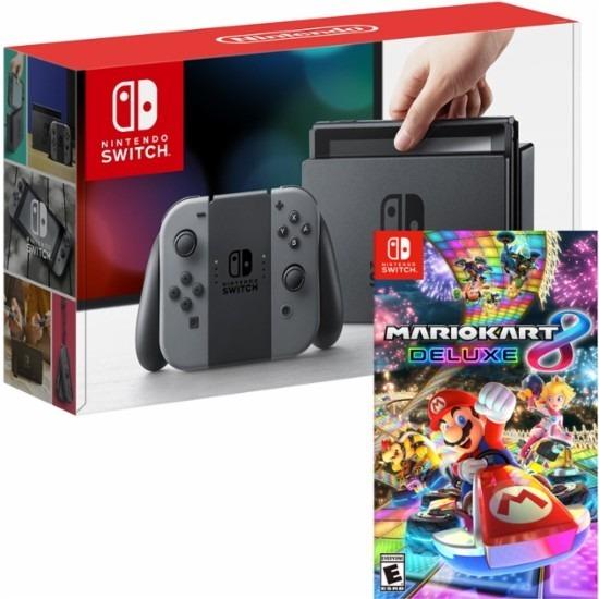 Nintendo Switch Mario Kart 8 Ed Deluxe Juego Gratis Digital U S