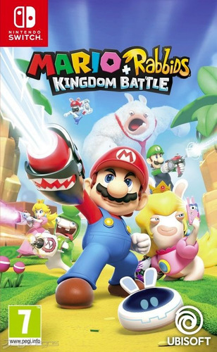 nintendo switch mario + rabbids kingdom nuevo y sellado