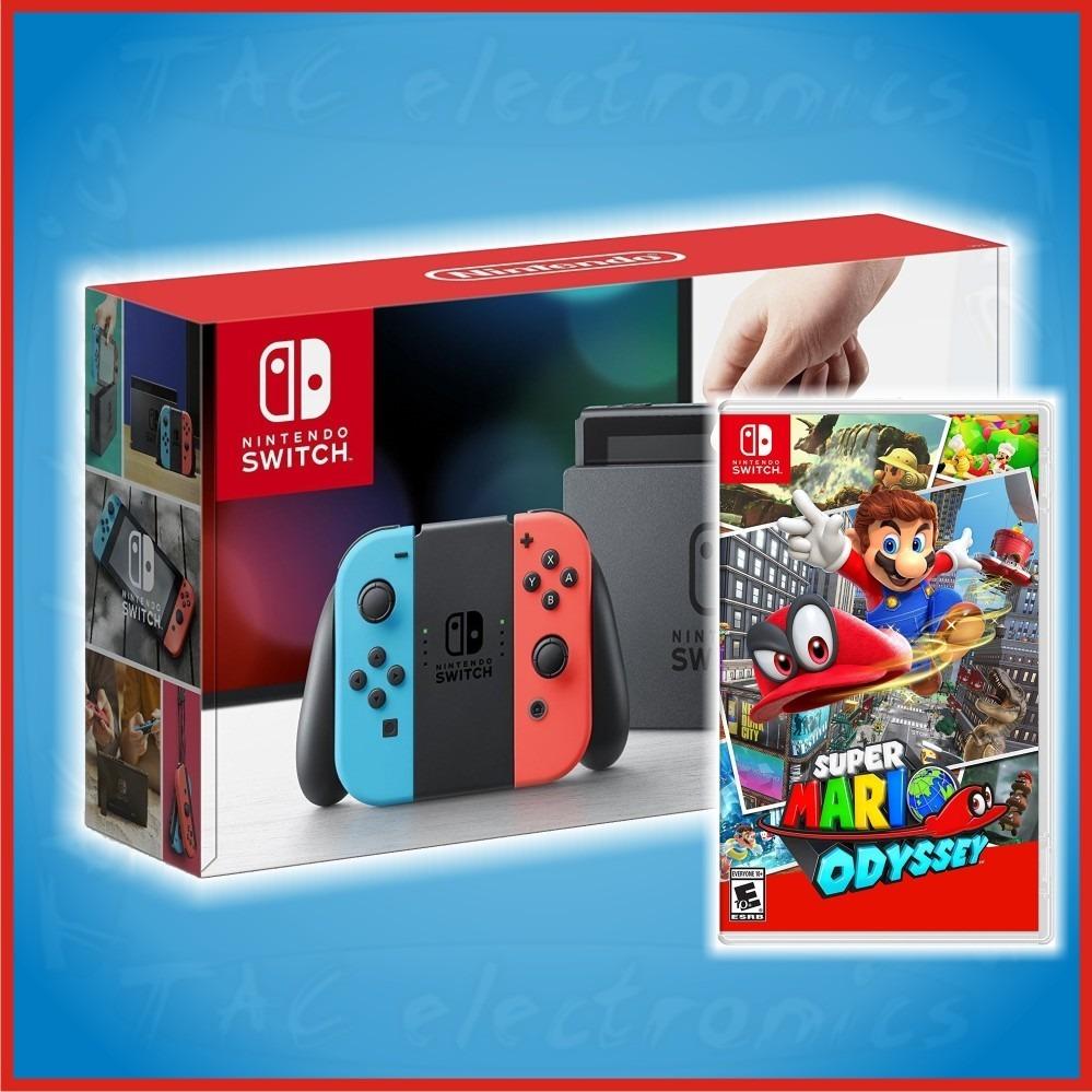 Nintendo Switch Neon Juego A Escoger Promocion 8699