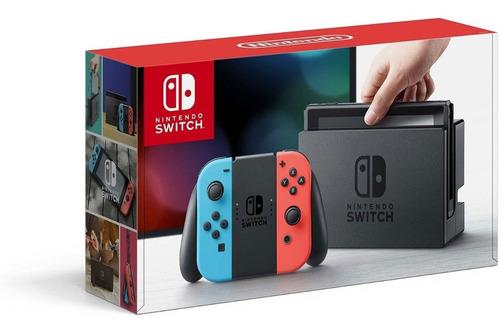 nintendo switch nuevo 32 gb  neon / gris oferta fin de año